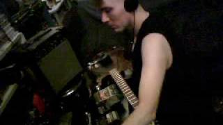 Prepared guitar, detuned scanner, sound devices,objects