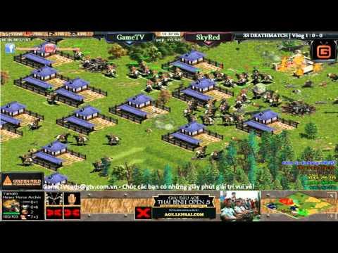 Thái Bình Open 2016, 33 Deathmatch GameTV vs SkyRed 23-04-2016 Trận 1