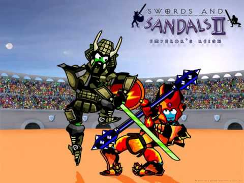 Swords And Sandals 2 Gladiator song 80 min YouTube