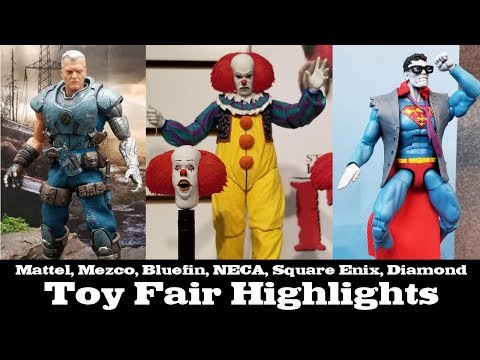 Robo Did Toy Fair: Mezco, Mattel, NECA, Bluefin, Super7, Square Enix, Diamond and more!