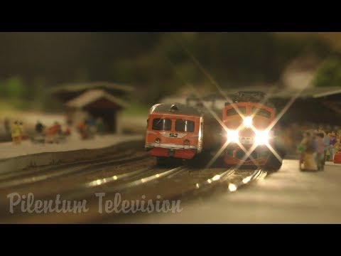 One of Sweden's finest and largest and most famous model railroad in HO scale