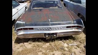 1965 Pontiac found at the route 66 Kingman Arizona