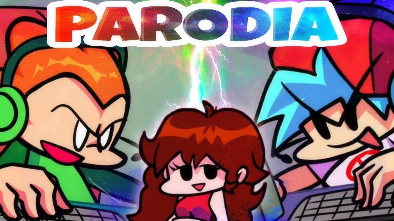 EN LINEA!! (Animacion de FNF) PARODIA || Español