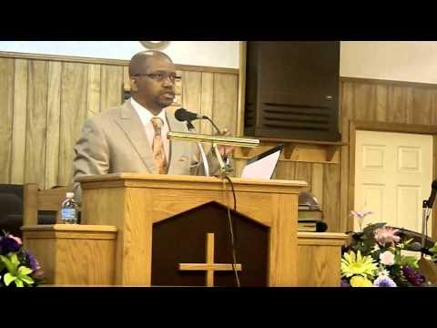 Rev. James Porter preaching at Mt. Olive M.B. Church, Millport, AL 8/16/2015 morning service.