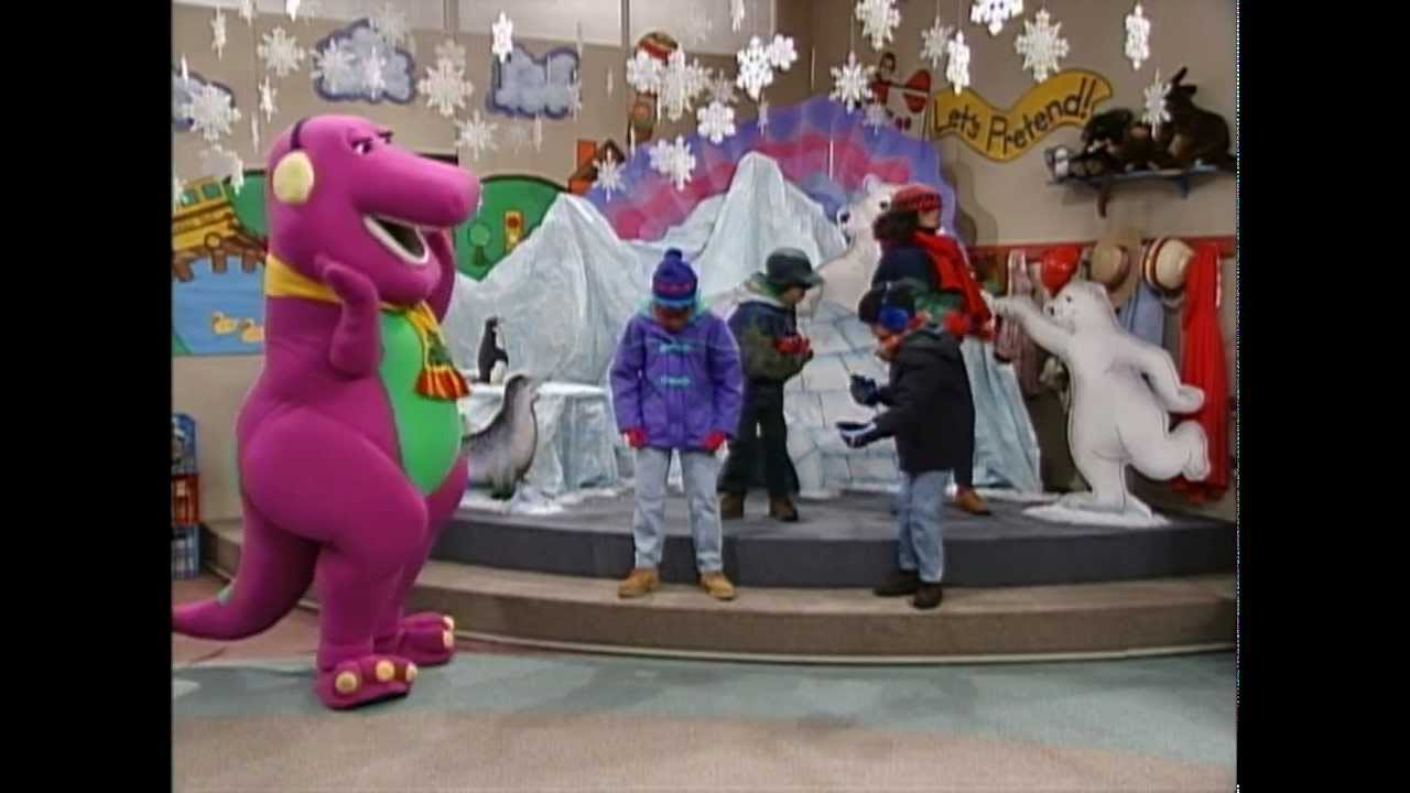 Barney Friends Its Coldhd 720 Youtube