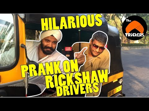 Irritating Rickshaw & Taxi Driver's of Mumbai | Funny Indian Video | Pranks In India 2017