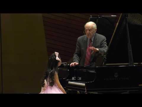 Harmony Zhu 2016 Master Class with Arie Vardi