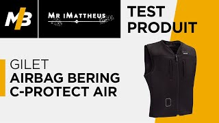 Gilet airbag Bering C-PROTECT Air, l'essai par Mr iMattheus
