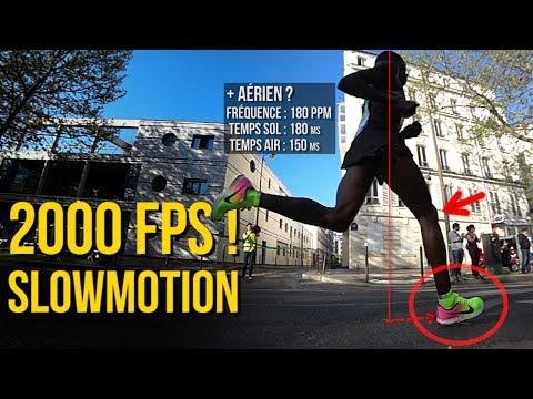 Download Youtube: La foulée des Kenyans - 2000FPS SUPERSLOWMOTION ! Terrien/Aérien ? [Marathon de Paris 2017]