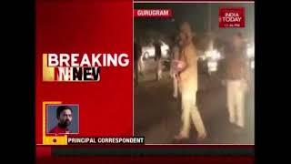 Gurugram Cops Snooze As Unknown Men Vandalise Bus On NH-8 | Padmaavat Row