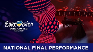 norma john blackbird finland eurovision 2017 national final performance