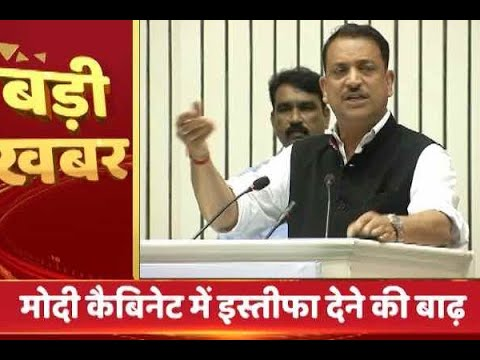 Rajiv Pratap Rudy resigns from Modi cabinet; Uma Bharti offers to quit too