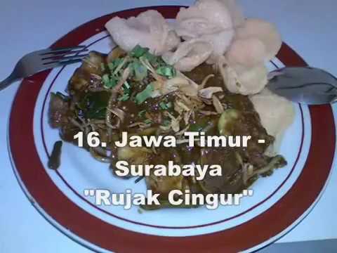Makanan Khas 34 Provinsi Indonesia Youtube