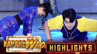 Gambar cover Ryan, Vhong, Jhong and Anne perform push-ups | It's Showtime KapareWho