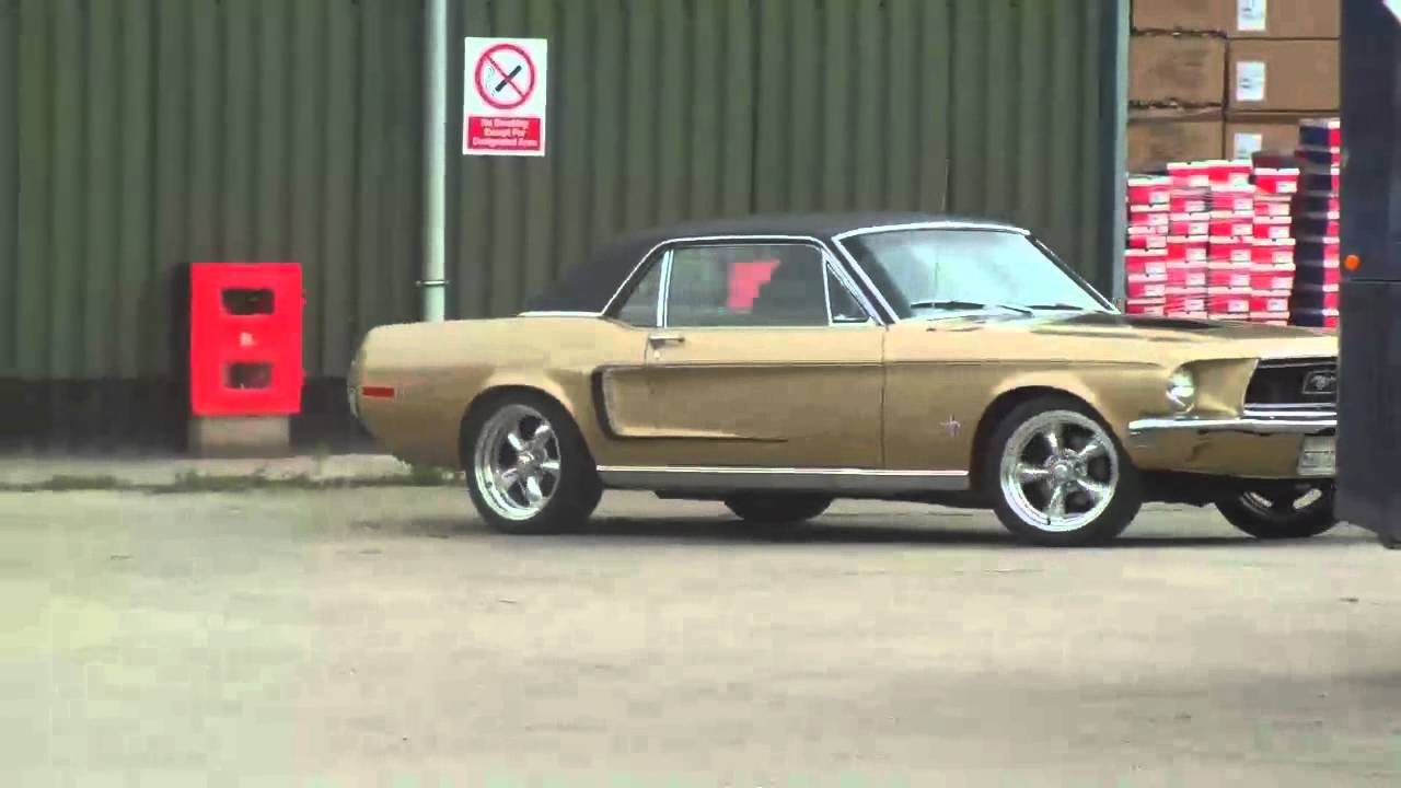 Ford Aod Transmission >> 1968 Ford Mustang Gold Nugget Special - YouTube