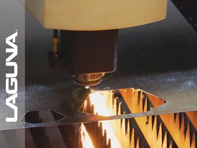 Copper Metal Cutting on Laguna Fiber Laser