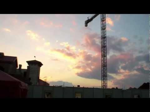 Former Jaws Ride Amity Island area Construction Update Universal Studios Orlando Nov 1st 2012