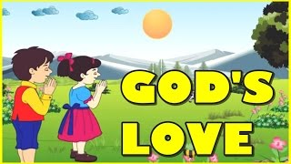 God Love Is So Wonderful Nursery Rhyme | Children Song | Children Rhymes