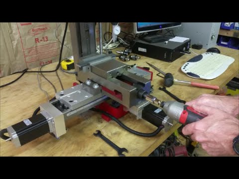 hqdefault mini mill cnc conversion part 9 installing the tooling plate and wiring milling machine at nearapp.co