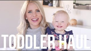 TODDLER SPRING CLOTHING HAUL 2018 / Giveaway to Tea Collection!