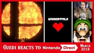 Reacting to The Nintendo Direct 3.8.2018!