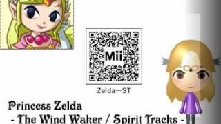 "Mii of  ""Legend of Zelda"" for 3DS"