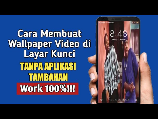 Cara Membuat Wallpaper Video Di Layar Kunci Youtube