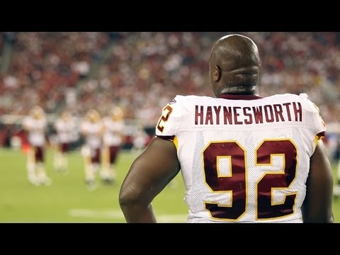 Albert Haynesworth of the Washington Redskins, Traded to the New England Patriots