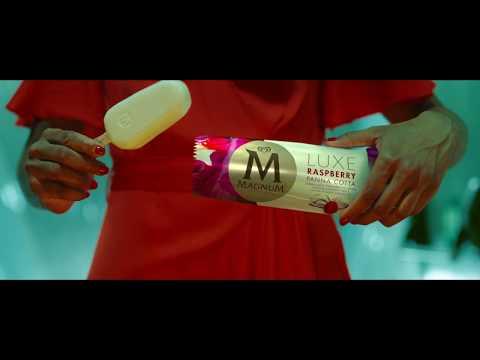 Magnum LUXE Raspberry Panna Cotta (6s)