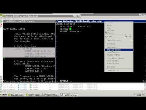 PXE Server Setup