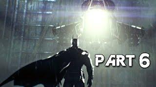 Batman Arkham Knight Walkthrough Gameplay Part 6 - Helicopter Boss (PS4)