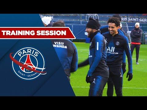 TRAINING SESSION: DIJON vs PARIS SAINT-GERMAIN with Neymar JR, Marquinhos & Thiago Silva