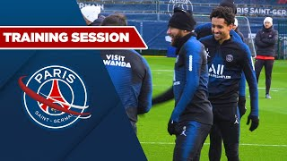 VIDEO: TRAINING SESSION: DIJON vs PARIS SAINT-GERMAIN with Neymar JR, Marquinhos & Thiago Silva