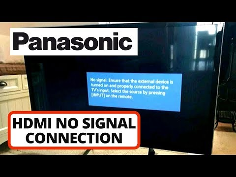 HDMI No Signal Connection Issue On Panasonic TV [SOLVED] || HDMI Ports