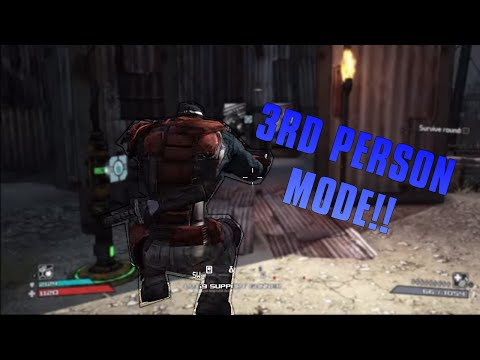 Borderlands: How to activate Third Person! (PC) *GUIDE*