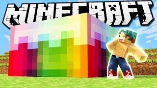 GORGEOUS RAINBOW CAKE! | Minecraft Build Battle