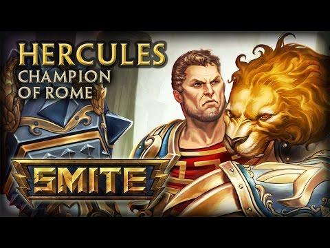 видео: smite Геркулес/hercules античный боулинг) - Гайд