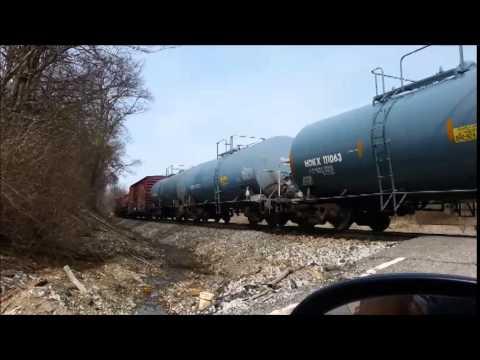 CSX Southbound Freight Walton, KY