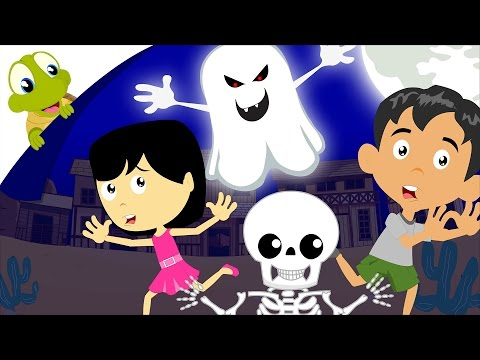 It's Halloween Night Nursery Rhymes | Halloween Song for kids with lyrics