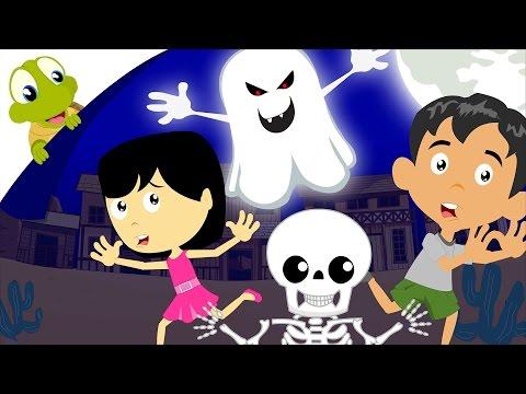 It's Halloween Night Nursery Rhymes   Halloween Song for kids with lyrics