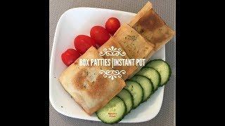 Box Patties with Chicken, Cheese and Veggies | INSTANT POT | Mumtaz Hasham