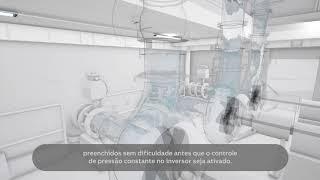 Video: Inversor de frequência ACQ580 para água e saneamento: Função de preenchimento suave de tubulação