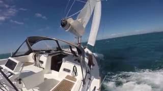 Beneteau Oceanis 37 Yacht sailing Hauraki Gulf NZ