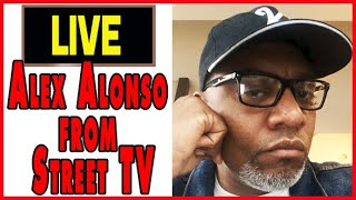 Alex Alonso of Street TV live from Los Angeles (Questions, American Cholo interview, cease fires)