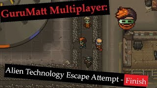 Скачать Alien Technology Escape Attempt Finish Area 17 The Escapists 2 GuruMatt Multiplayer Streams