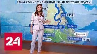 Туристическим планам Египта может помешать дамба - Россия 24