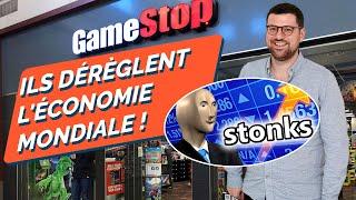 GAMESTOP : LA BOURSE S'AFFOLE !