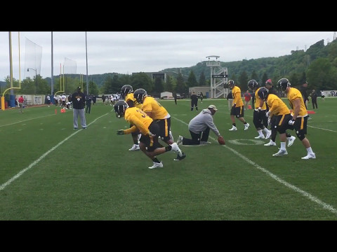 Pittsburgh Steelers open rookie minicamp 2017