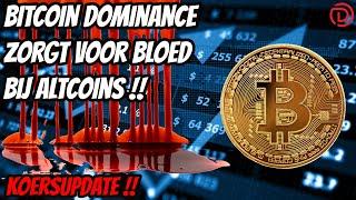 😱Live stream Doopie Cash | Bitcoin zorgt voor blood bij de altcoins
