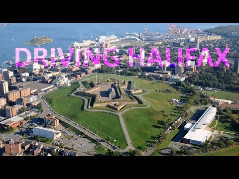 Driving Halifax Nova Scotia